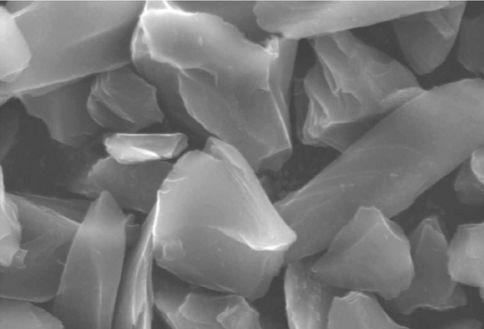裕丰碳纤维锂电池硬碳负极材料显微镜图